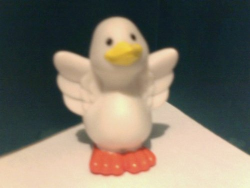 Fisher Price Little People Farm White Duck Replacement Figure - 1