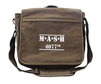 Mash 4077th Canvas Messenger Bag