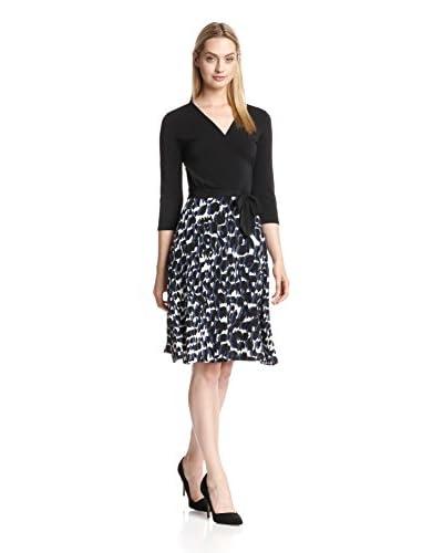 Leota Women's Combo Perfect Wrap Dress