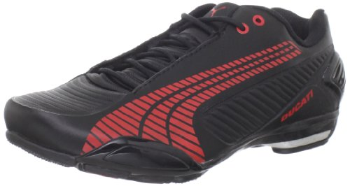 Puma Men's Testastretta III Ducati Fashion Sneaker,Black/Red/Aged Silver/White,14 D US
