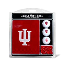 Buy Indiana Hoosiers Towel Gift Set from Team Golf by Team Golf