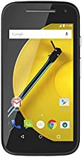 Motorola Moto E 4G Smartphone débloqué 4G (8 Go - Ecran : 4,5 pouces - Simple SIM - Android) Noir