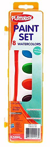 Playskool Watercolor Paint Set 8 Colors - 1