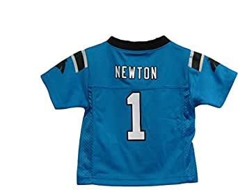 Cam Newton Carolina Panthers Blue NFL Infants 2014-15 Season Mid-tier Jersey (18 Months)