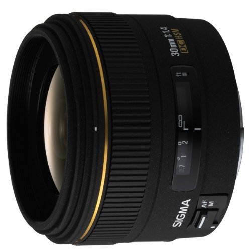 Sigma 30mm f1.4 EX DC HSM Digital Lens For Canon Mount