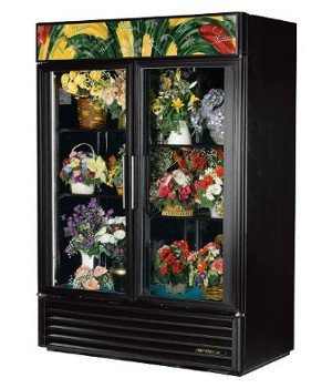 True GDM-49FC-LD Floral Merchandiser - 54 Inch - 2 Section with 2 Glass Doors (Floral Refrigerator Cases compare prices)