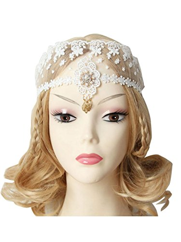 Jelinda Queen's Royal Lace Veil Headpiece Face Mask Wedding Cocktail Fascinator Party