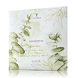 Thymes Bath Salt Envelopes 2.0 oz. Set of 6 - Eucalyptus