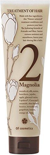オブ・コスメティックス トリートメントオブヘア・2-Ma スタンダードサイズ(マグノリア「木蓮」の香り)210g