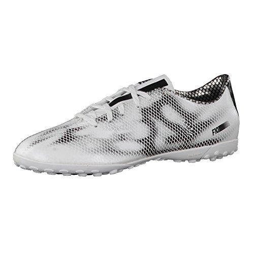 Adidas F10Turf Uomo Scarpe da calcio, Uomo, Weiß (Ftwr White/Core Black/Core Black), 40 2/3 EU