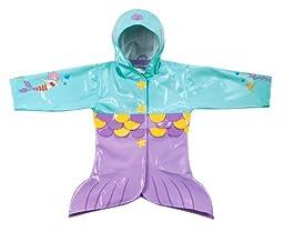 Kidorable Mermaid PU Coats Size 4T