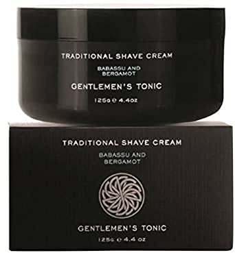 Gentlemen's Tonic Traditional Shave Cream 125 g
