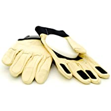 Landyachtz Slide Gloves + Palm Puck [Large] Khaki Leather