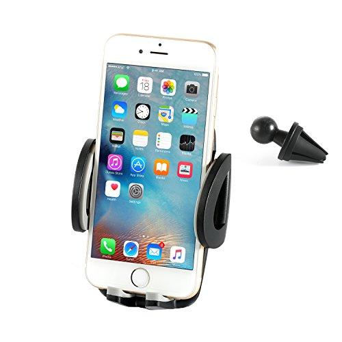 Auto-Halterung-ABASK-Universal-Auto-Halterung-Air-Vent-Handy-Halter-mit-360--Rotation-fr-iPhone-Samsung-Galaxy-Note-LG-Nexus-SONY-Nokia-und-GPS-Gerte-schwarz
