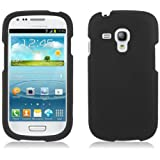 Aimo Wireless SAMI8190PCLP001 Rubber Essentials Slim and Durable Rubberized Case for Samsung Galaxy S3 Mini - Retail Packaging - Black