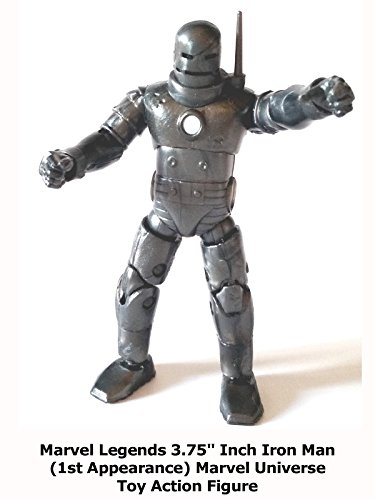 "Review: Marvel Legends 3.75"" Inch Iron Man (1st Appearance) Marvel Universe Toy Action Figure"