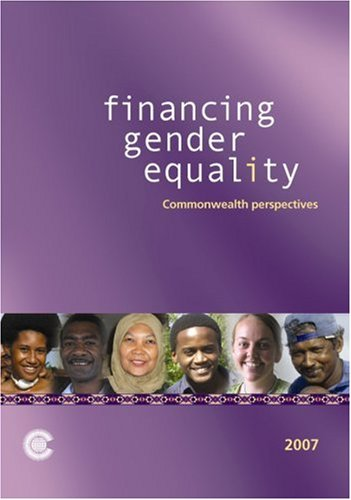 Financing Gender Equality: Commonwealth Perspectives