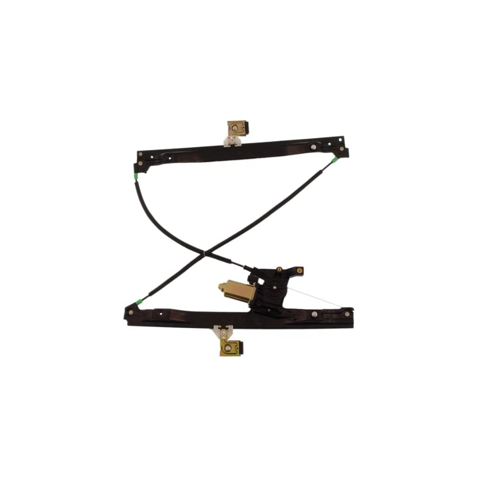Dorman 741 690 Front Driver Side Replacement Power Window Regulator with Motor for Select GM/Isuzu/Saab Models