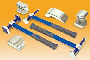 Eastwood 7 Piece Body Hammer & Dolly Autobody Fender and Dent Repair Set by Eastwood