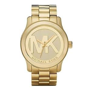 Michael Kors Quartz Goldtone Bracelet Champagne Dial Women's Watch MK5473