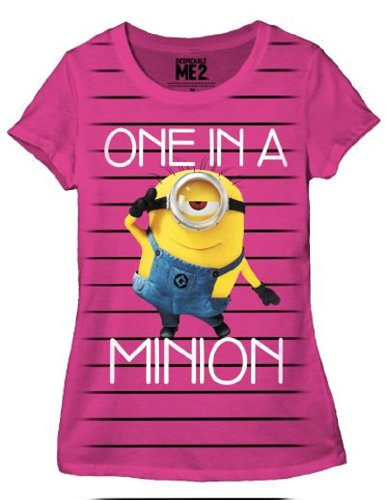 Despicable Me One In A Minion Junior Shirt
