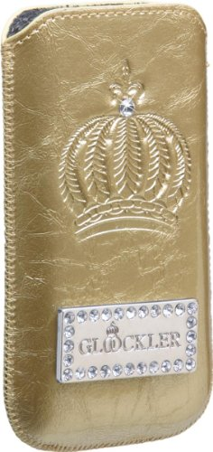 Galaxy S3 Mini Harald Glööckler Handytasche Sleeve Carat Gold von x-squeeze-it