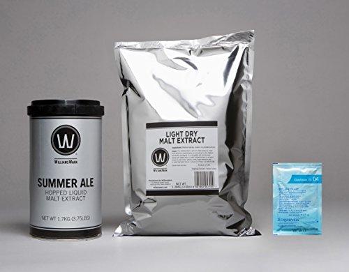 WilliamsWarn Premium Summer Ale Home Brew Ingredient Kit
