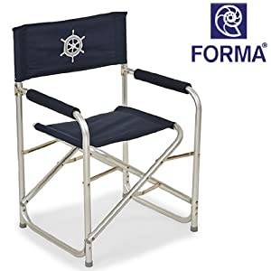 FORMA MARINE Folding Director Chair Sports Outdoors