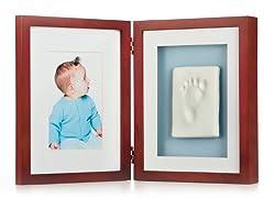 Pearhead Babyprints Desk Frame, Mahogany made by Pearhead
