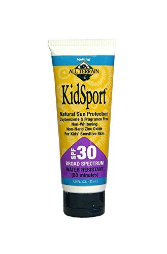 Best All Terrain KidSport Oxybenzone Free Sunscreen
