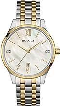 Comprar Bulova 98S149 - Reloj de pulsera Mujer, Chapado en acero inoxidable, color Multicolor