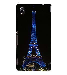99Sublimation Effie Tower 3D Hard Polycarbonate Back Case Cover for Sony Xperia M4 Aqua, Sony Xperia M4 Aqua Dual