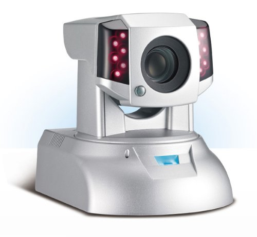 Compro IP570P Day & Night Pan/Tilt/Zoom(12x Optical) Megapixel/HD H.264 Network Camera with Power Over Ethernet (POE)