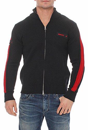 ducati-maglia-divisa-uomo-mens-work-sweater-reissverschluss-strickjacke-986964-xxxl
