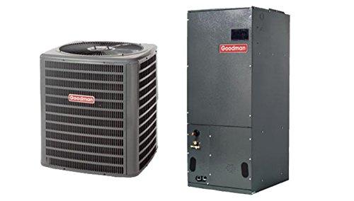 Goodman 4 Ton 15 SEER Heat Pump System with Multi Position Air Handler SSZ140481ASPT48D14A (4 Ton Heat Pump System compare prices)