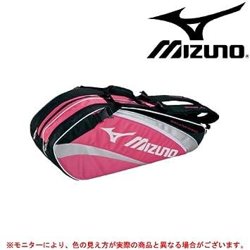 【クリックで詳細表示】Amazon.co.jp | MIZUNO(ミズノ) ラケットバッグ 6本入れ 6DT211 (ローズピンク(64), F) | スポーツ&アウトドア 通販