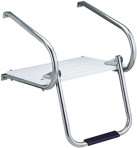 Garelick/EEz-In 19545:01 Marine I/O Swim Platform With Fold Down Ladder Step