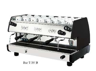22L Commercial Volumetric Espresso Machine (Black)
