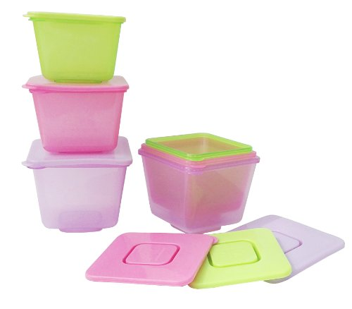 Annabel Karmel By Nuk 6 Stackable Food Pots - Bpa Free front-886235
