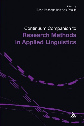 Continuum Companion to Research Methods in Applied...
