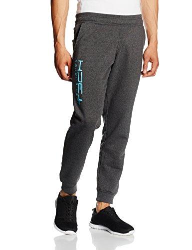 Jack & Jones Tech pantaloni da tuta, colore grigio (dark grey melange), taglia L