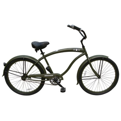 General 26 Mens Beach Cruiser Bike