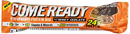 CRONS Come Ready Bar, Chocolate Peanut Butter Pretzel, 78 Grams (Pack of 12) (Come Ready Protein Bars compare prices)