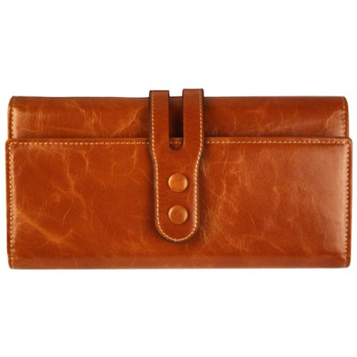 gogou-brown-genuine-leather-ladies-wallets-retro-clutch-purse-organizer