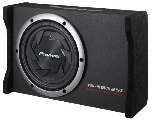 "Pioneer Ts-Swx251 10"" Flat Subwoofer With Enclosure 800 Watts"