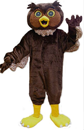 Mascots USA by CJs Huggables Custom Professional Low Cost Owl Mascot Costume