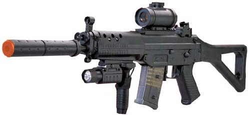 Navy SEAL Assault Rifle SG 552 Airsoft Electric