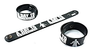 Amazon.com : A DAY TO REMEMBER New Bracelet Rubber Wristband Common
