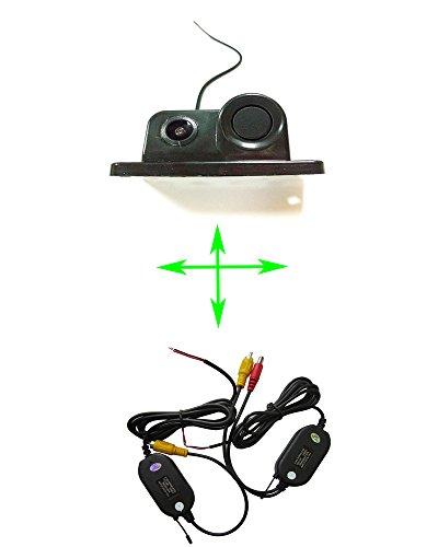 fuway sans fil capteur de stationnement CCD caméra de recul pour appareil photo vue arrière de voiture avec radar de recul