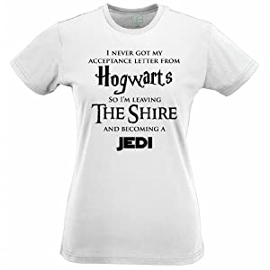 HOGWARTS LOTR JEDI TShirt Star Wars Hobbit Harry Potter Lord of The Rings Parody
